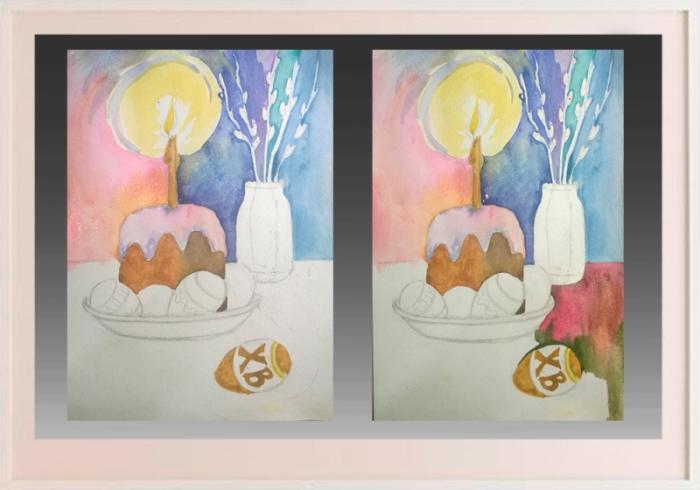 Изо пасхальная открытка 3 класс, картинка про