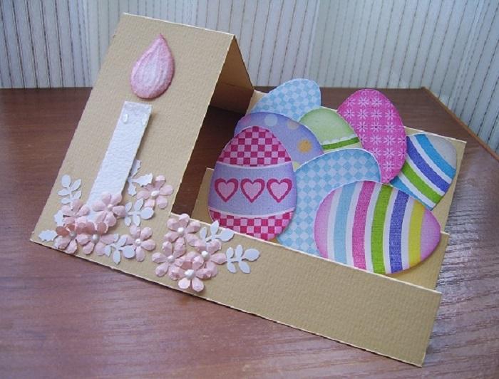 Создание пасхальных открыток, открытки
