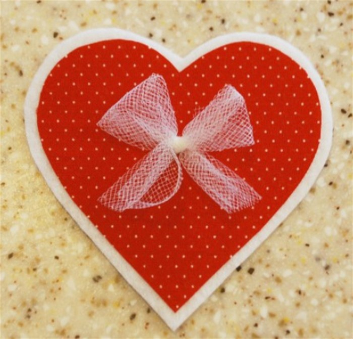 Как сделать открытку виде сердца на день святого валентина