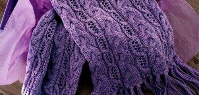 модный снуд спицами снуд для женщин новинки мужской шарф спицами