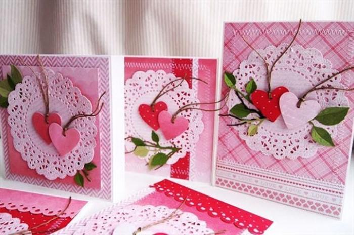 Открытки, скрапбукинг открытки с днем влюбленных