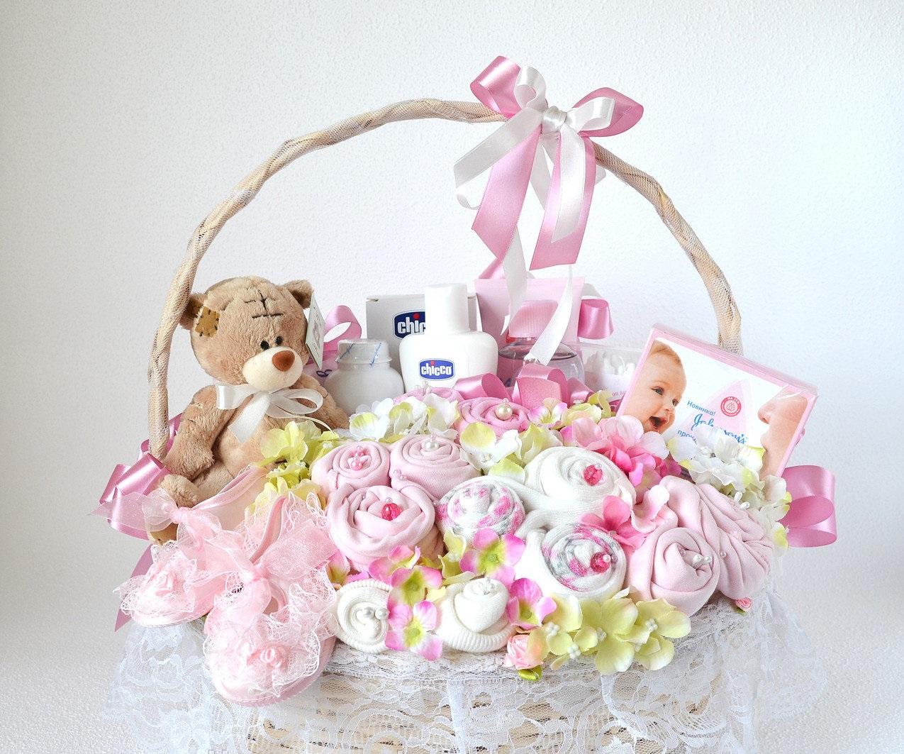 Букет для новорожденных близняшек, москве цена доставку