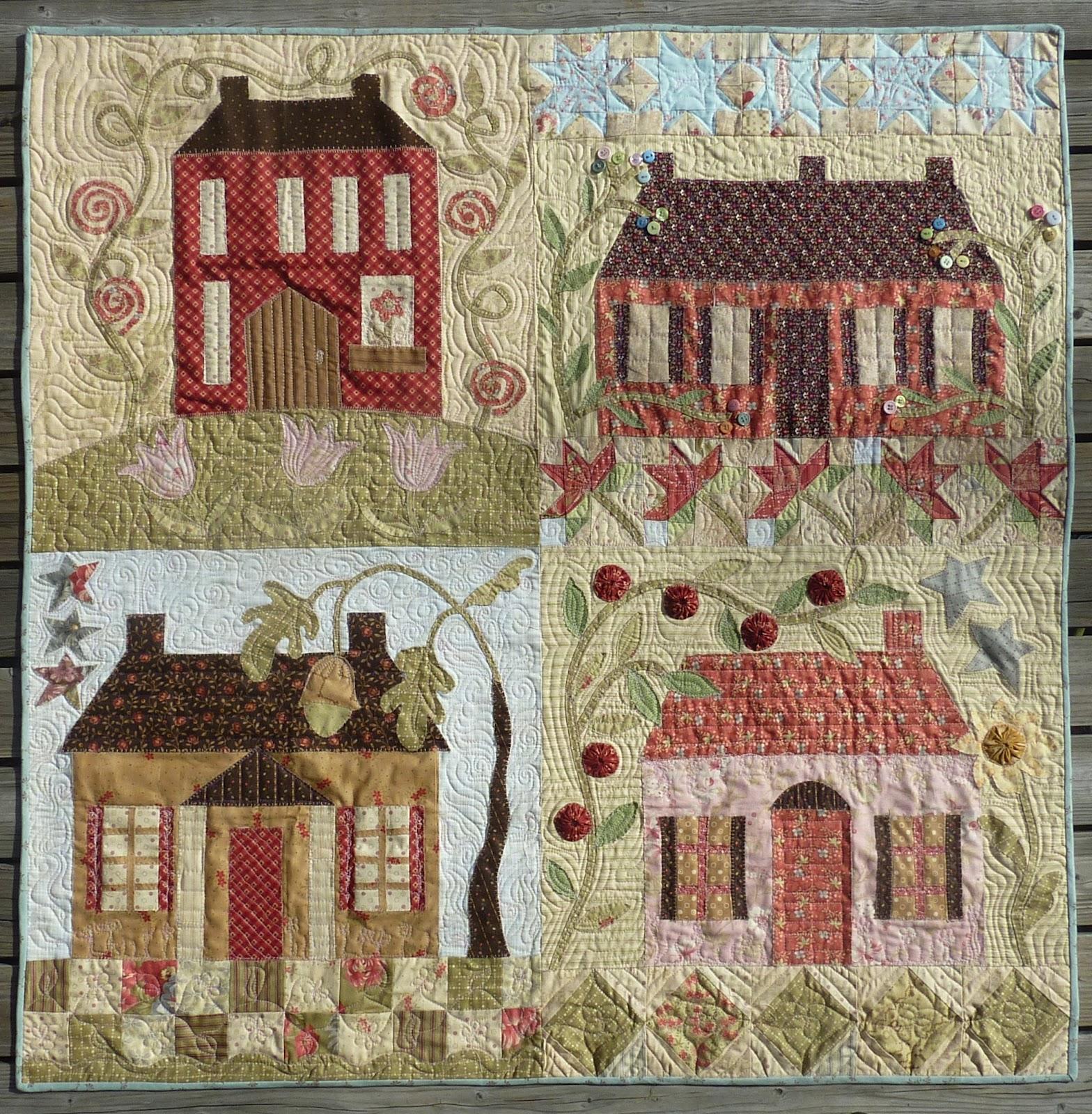 truswell-home-sweet-home Пэчворк по шаблону