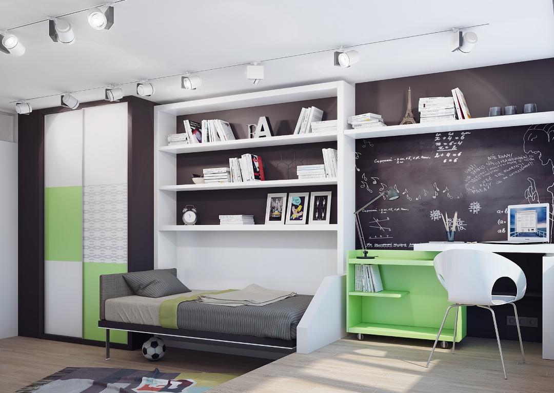 интерьер комнаты для мальчика дошкольника младшего школьного