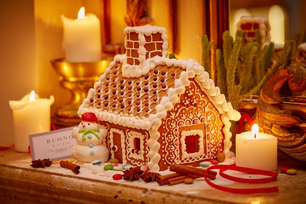 пряничный домик рецепт с фото картинки практически