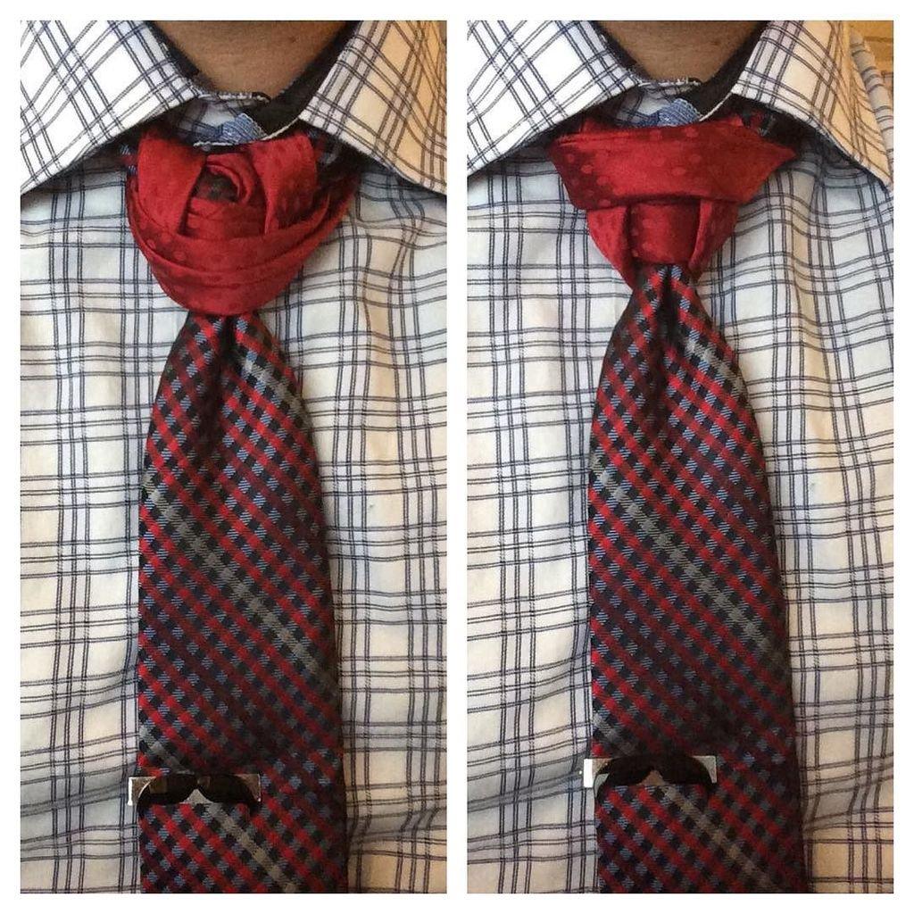 разные способы завязывания галстука фото этой неординарной женщины