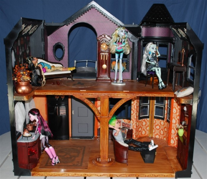 Дом для кукол монстр хай картинки