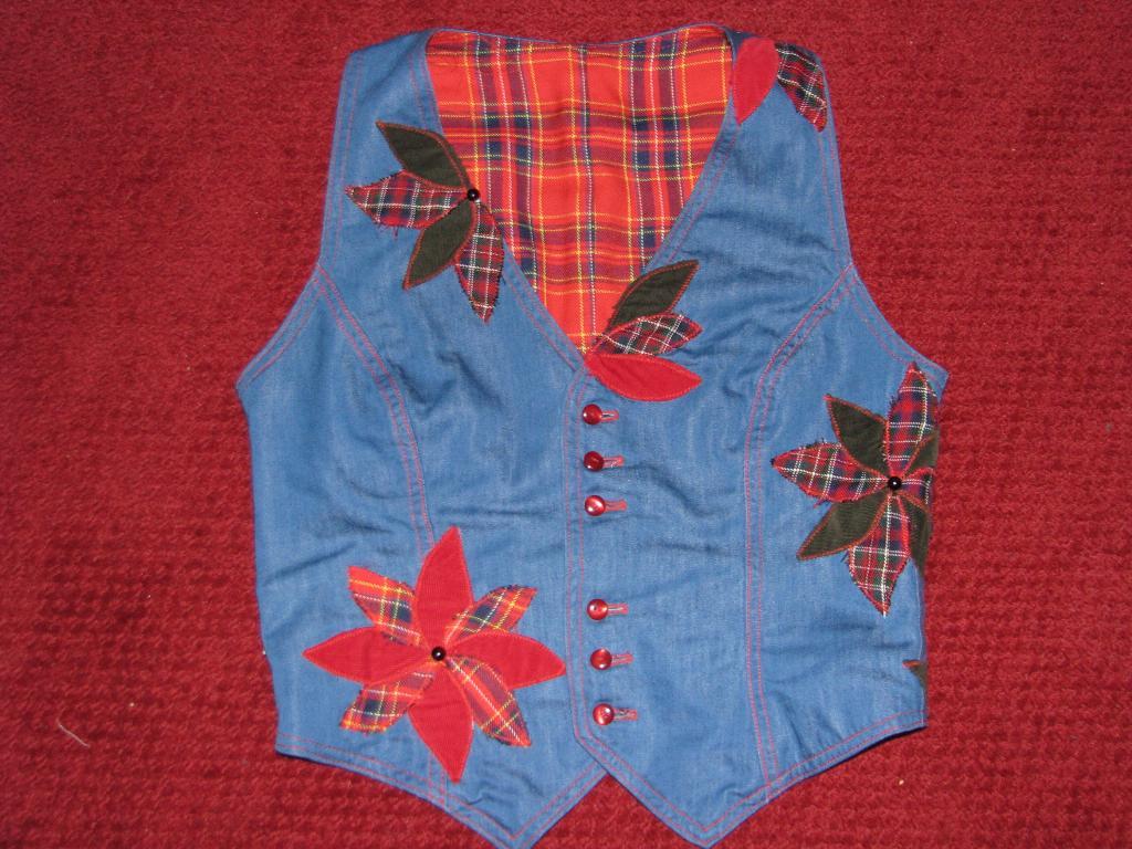 Джинсовые жилетки для девочек своими руками фото 931