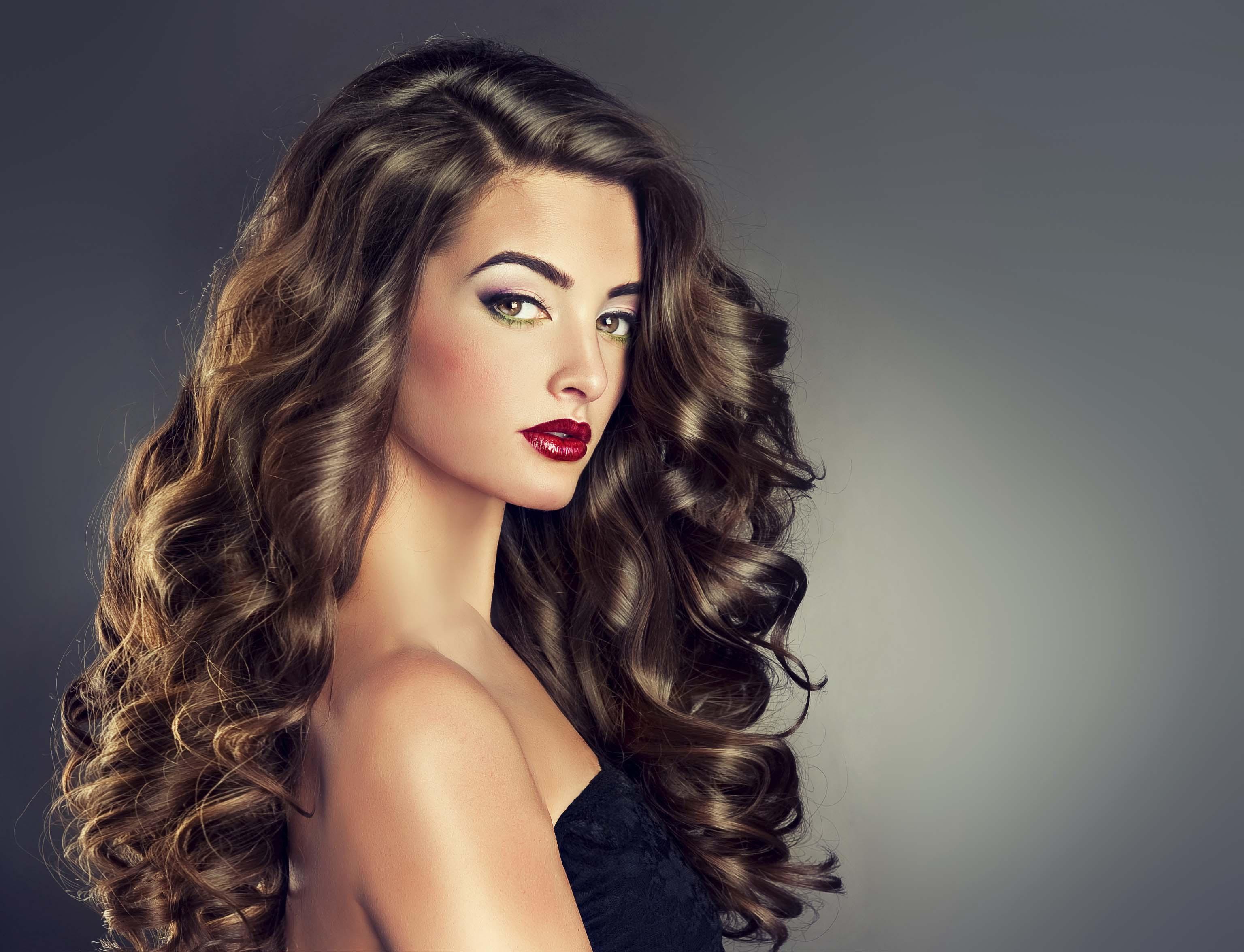 картинки красивые кудри на средние волосы сказать, где