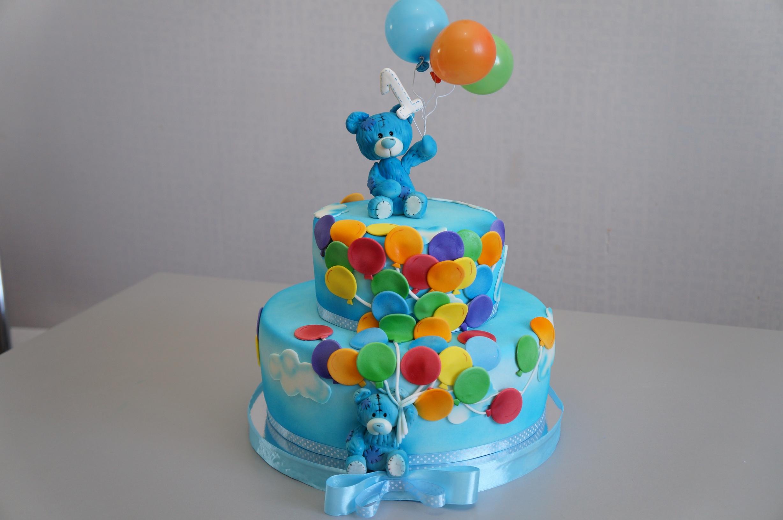 Торт на день рождения своими руками рецепт с фото для девочек