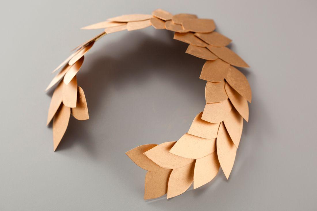Венок из лаврового листа на голову своими руками фото 640