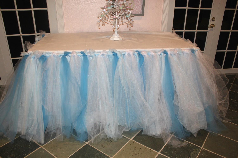 Юбка-патча для свадебного стола.