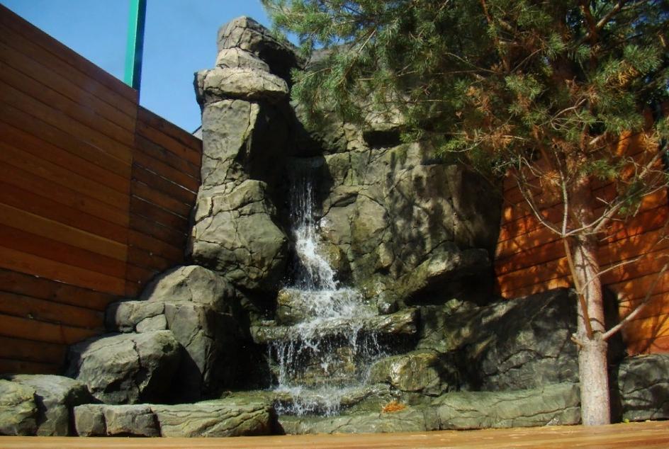 искусственный водопад фото пола является отличным