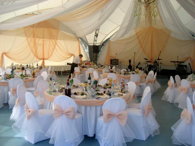 Свадебный шатер.