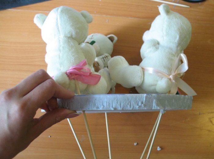 Как сделать букет из игрушек пошагово, цветов сургуте через