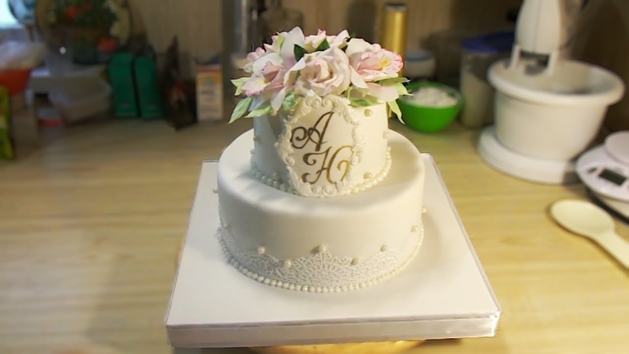Свадебные торты своими руками рецепты фото 719