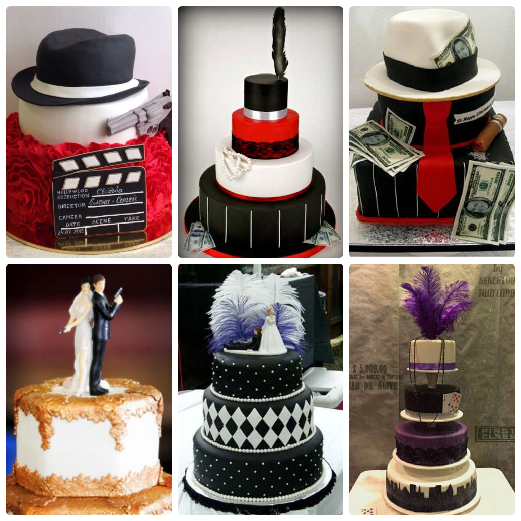 Свадебный торт, как элемент декора.
