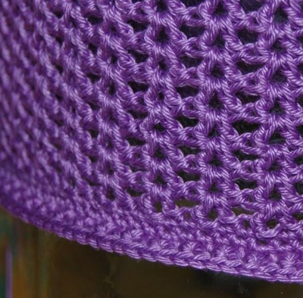 shapka-letnjaja-azhurnaja-etap18 Ажурная летняя шапочка спицами, крючком, схемы и описание, для девочек и женщин