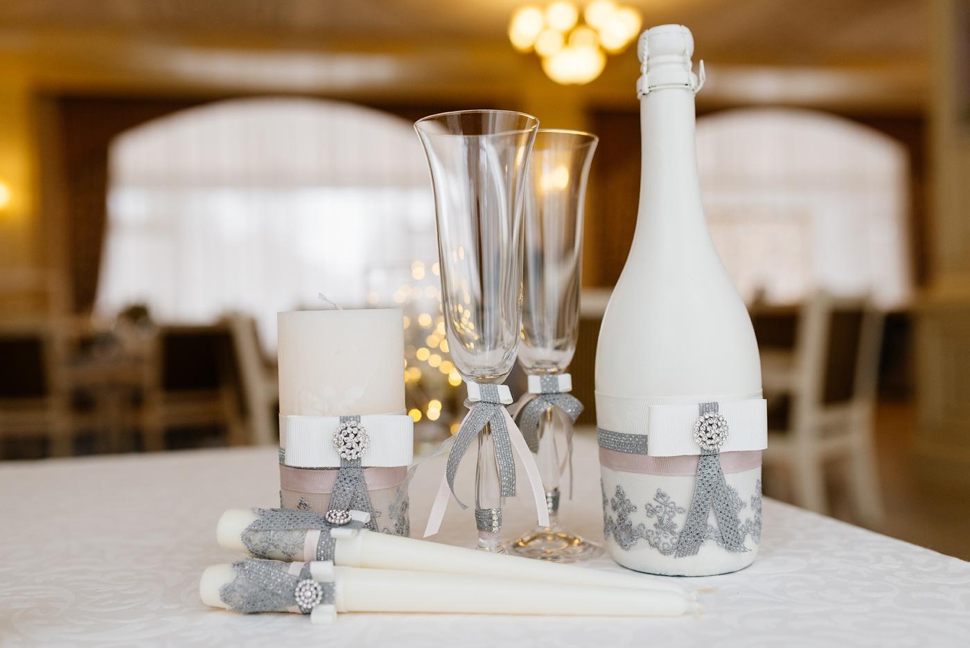 Дизайнерский свадебный декор.