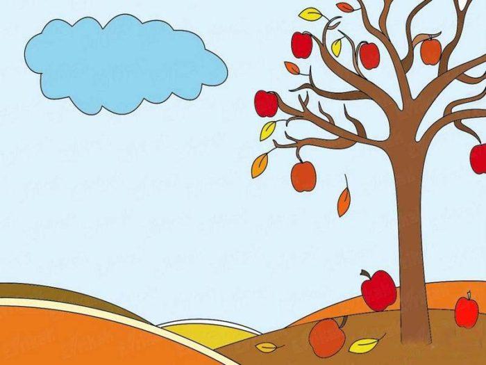 Картинки для срисовки на тему осень для детей