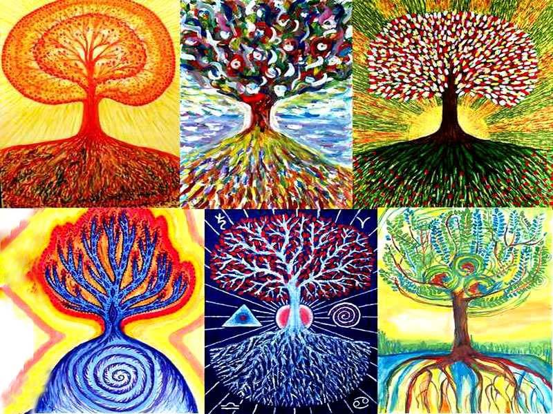 Ноября ссср, дерево жизни картинки по изо