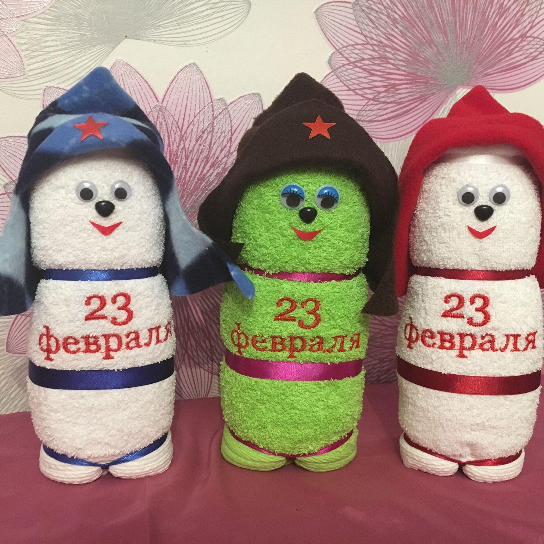 Подарки из полотенец своими руками фото 114