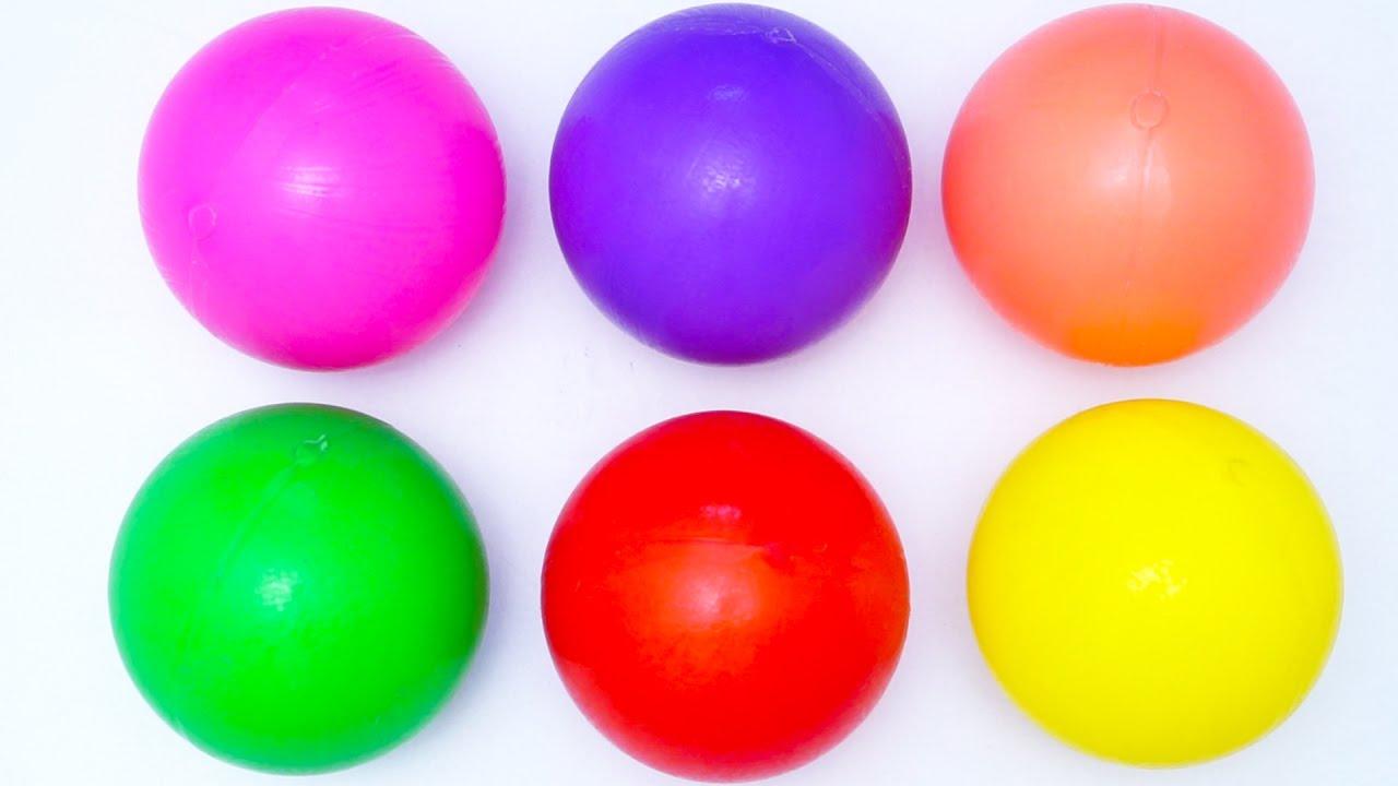 картинки мячей разных цветов этом материале