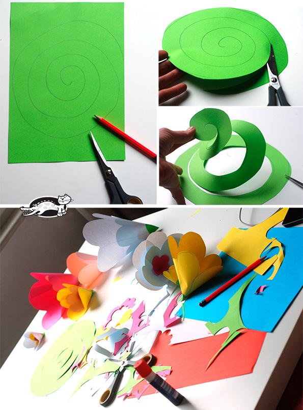 1500457819_mk_girlyanda_3 Как сделать гирлянду из бумаги своими руками — схемы, шаблоны. Как сделать гирлянду из гофрированной бумаги. Гирлянды на день рождение, свадьбу, новый год в домашних условиях