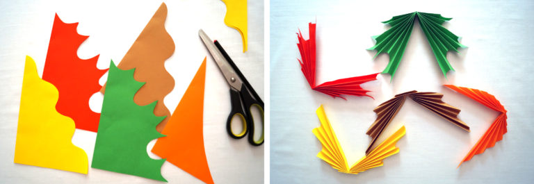 2-1 Как сделать гирлянду из бумаги своими руками — схемы, шаблоны. Как сделать гирлянду из гофрированной бумаги. Гирлянды на день рождение, свадьбу, новый год в домашних условиях