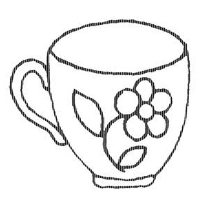 так чашка картинки для раскрашивания своеобразный смеситель