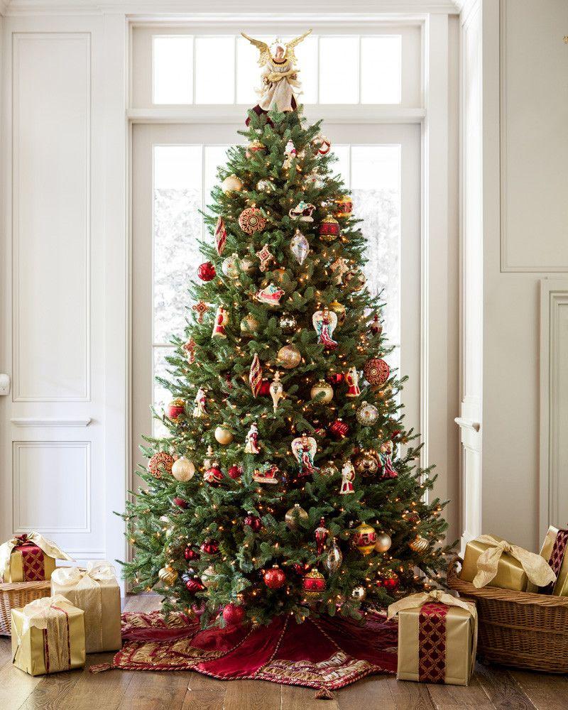 новогодние елки наряженные фото поэтому