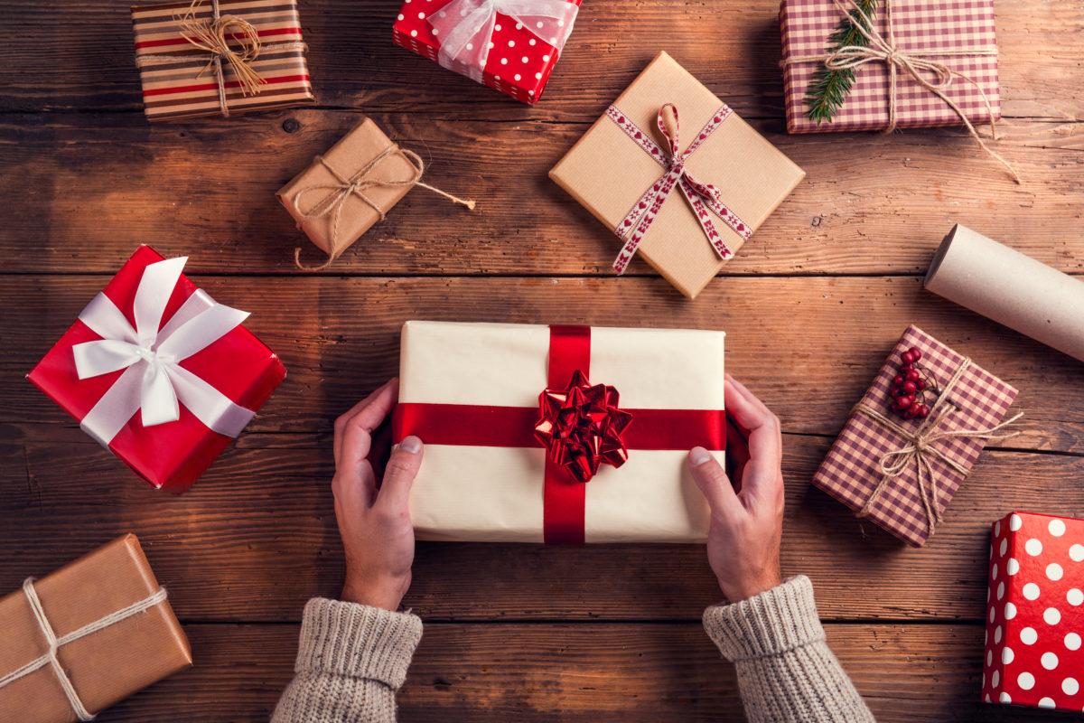 Картинка подарков на новый год своими руками
