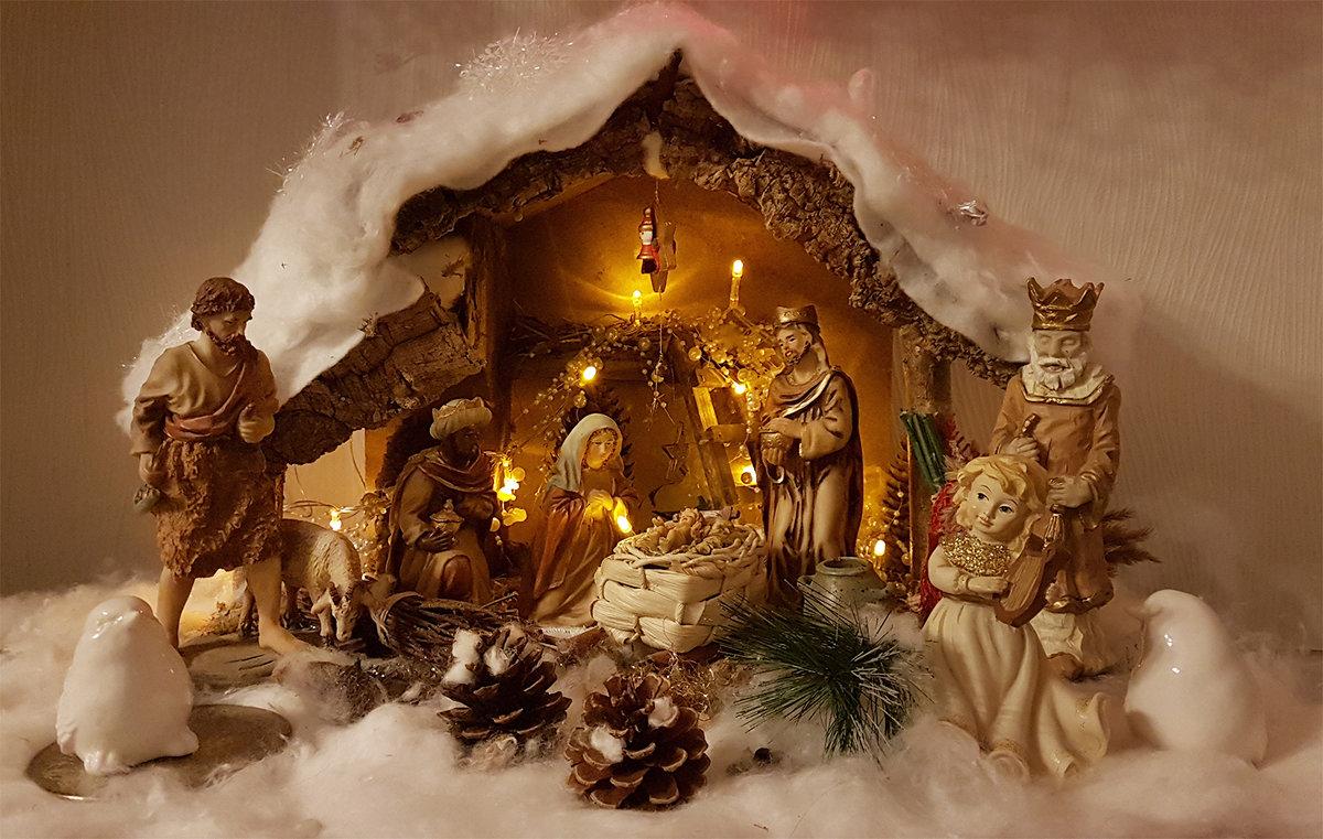 Стихами, вертеп рождественский картинки