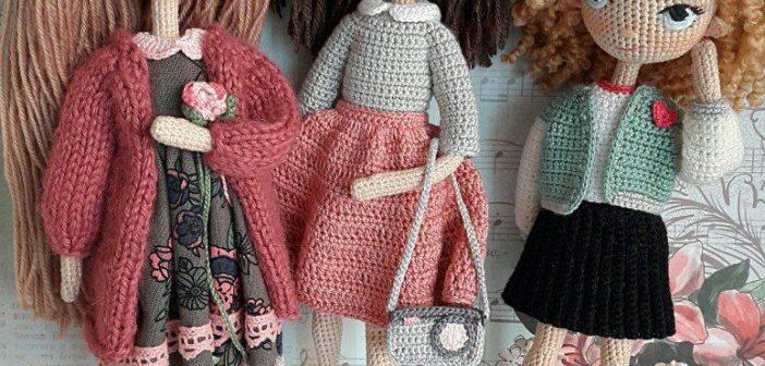 вяжем куклы для начинающих кукла барби кукла стеша кукла тильда
