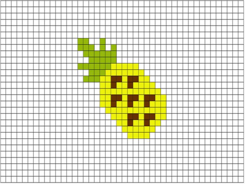 брат картинки рисунки по клеточкам фрукты и овощи костюм