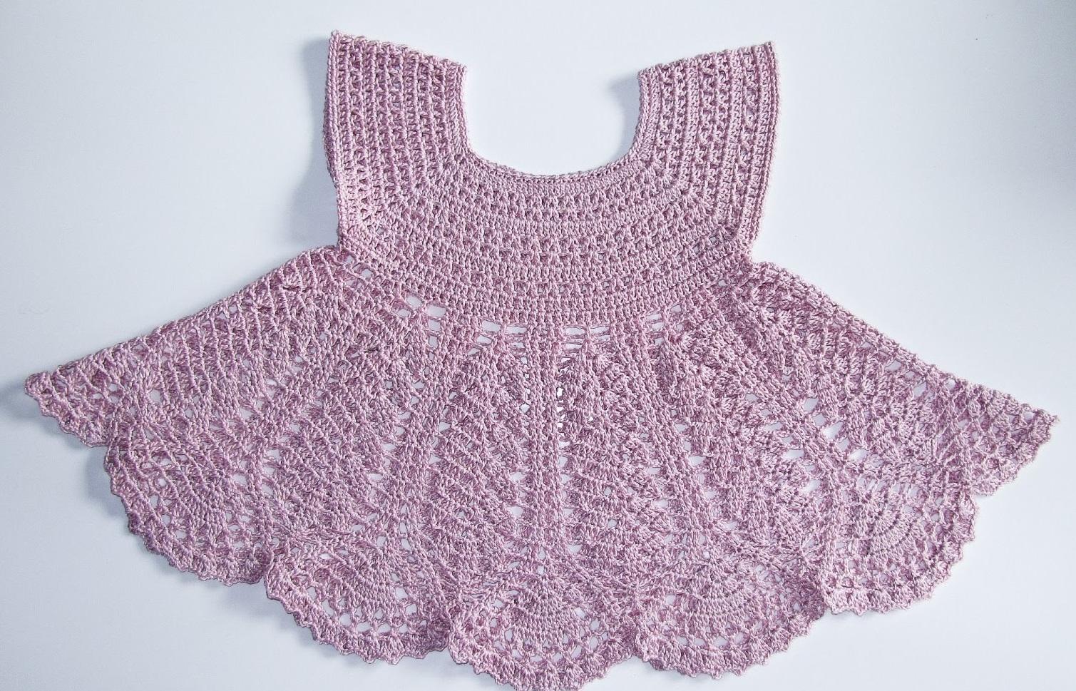 Красивые детские платье схема крючком схема фото 586