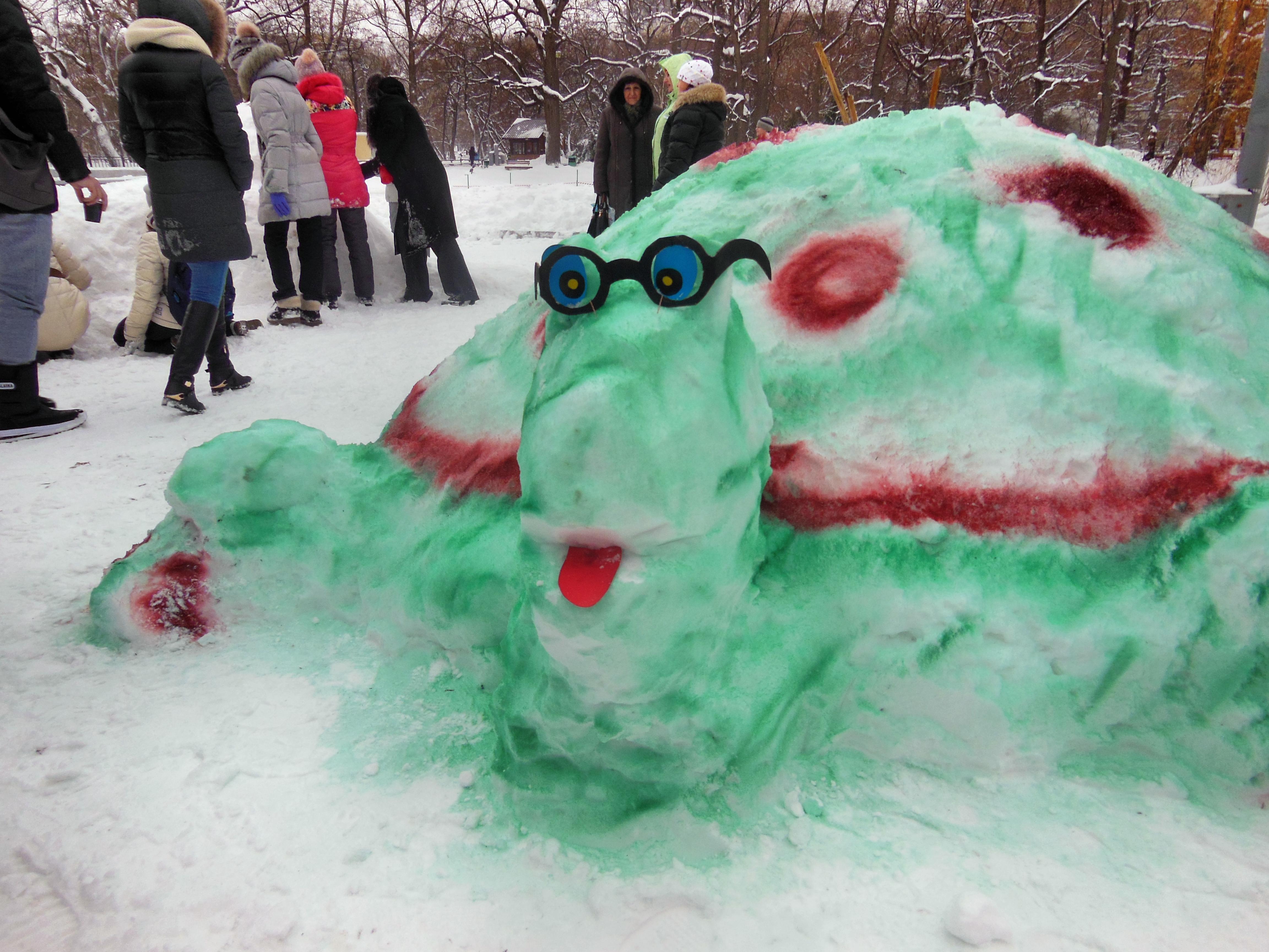 Как сделать своими руками снежный ком фото 53