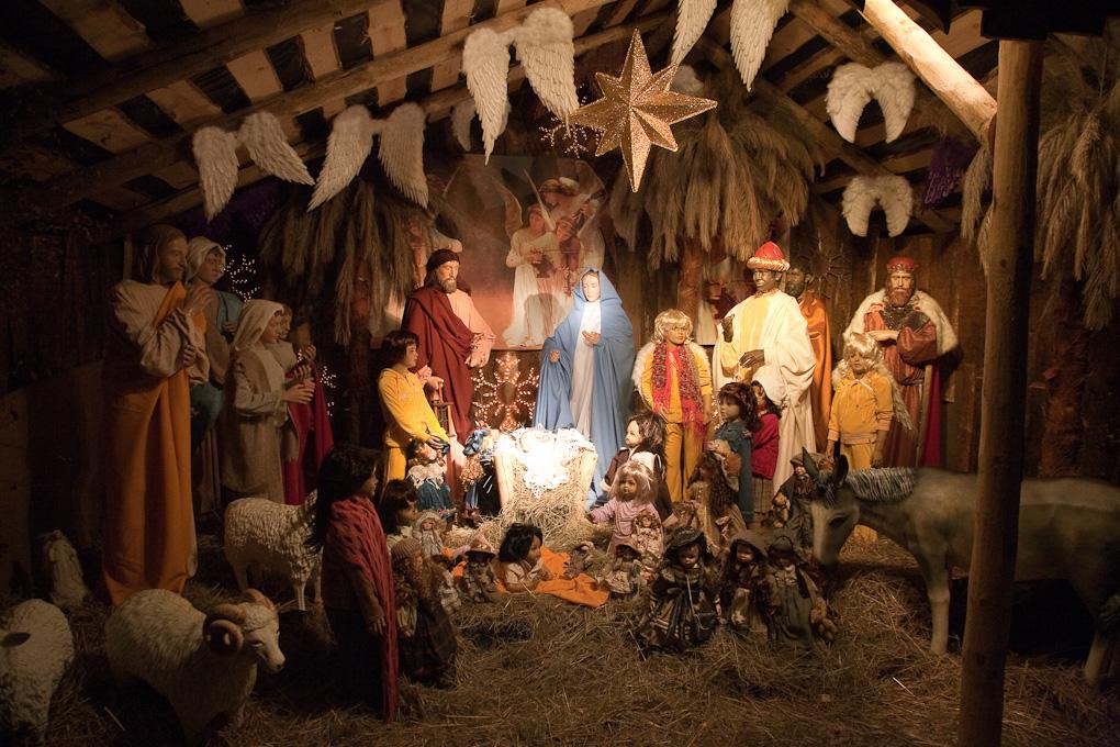 Картинки рождественский вертеп, надпись