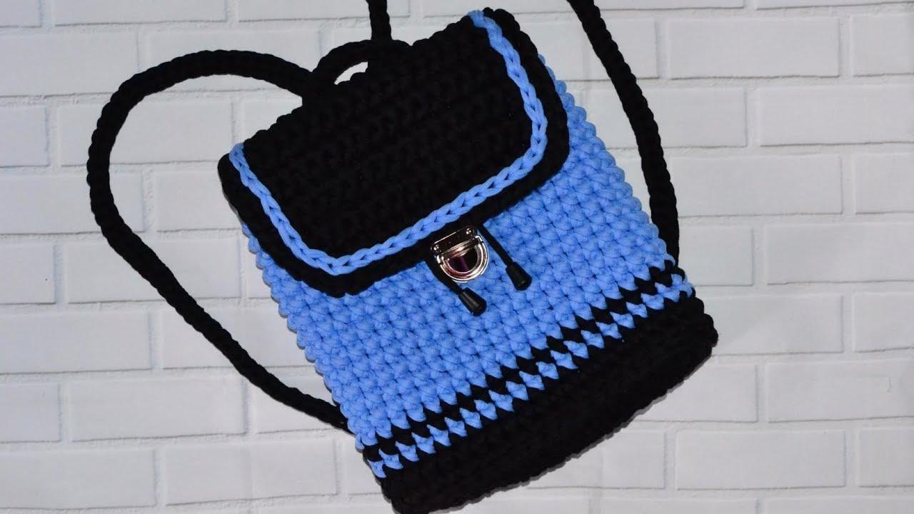 14e87711d8cd Подробней ознакомится с процессом вязания рюкзака для мальчика можно,  посмотрев мастер-класс, представленный на видео ниже.