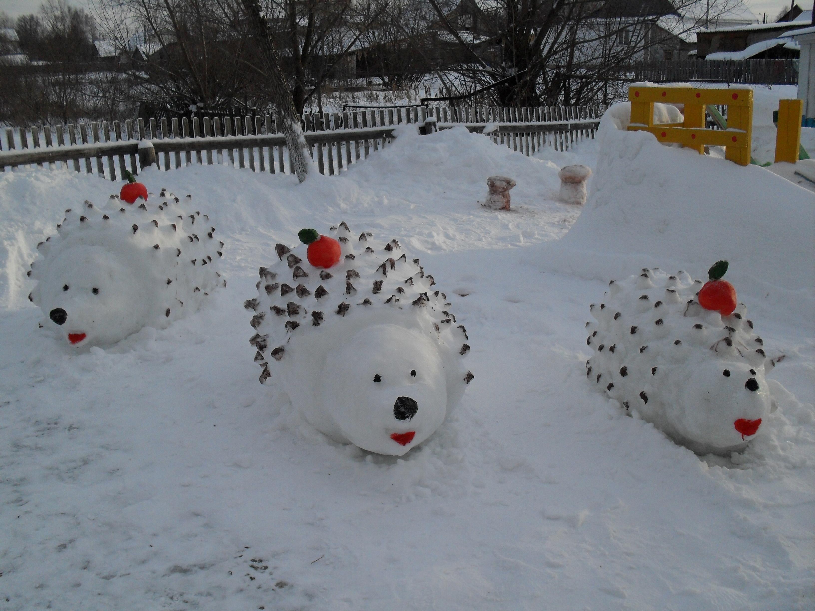 Как сделать своими руками снежный ком фото 467