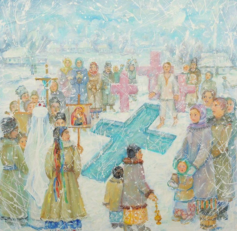 Картинки о крещении господнем для детей, природа красивая