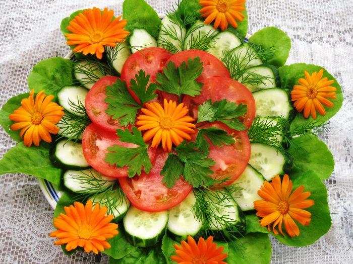 овощная нарезка на праздничный стол виды пошагово украшение