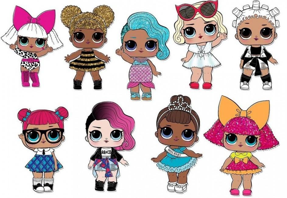 Картинки одежды куклы лол