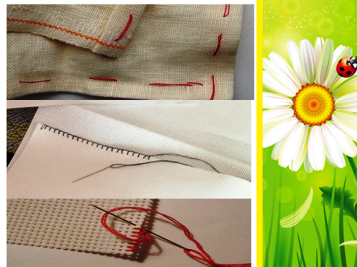obrab-kraja-700x525 Уроки вышивка крестом для начинающих : пошагово, для детей, легкие схемы, маленькие картинки. Схемы вышивания крестиком для детей, любителей, мастериц