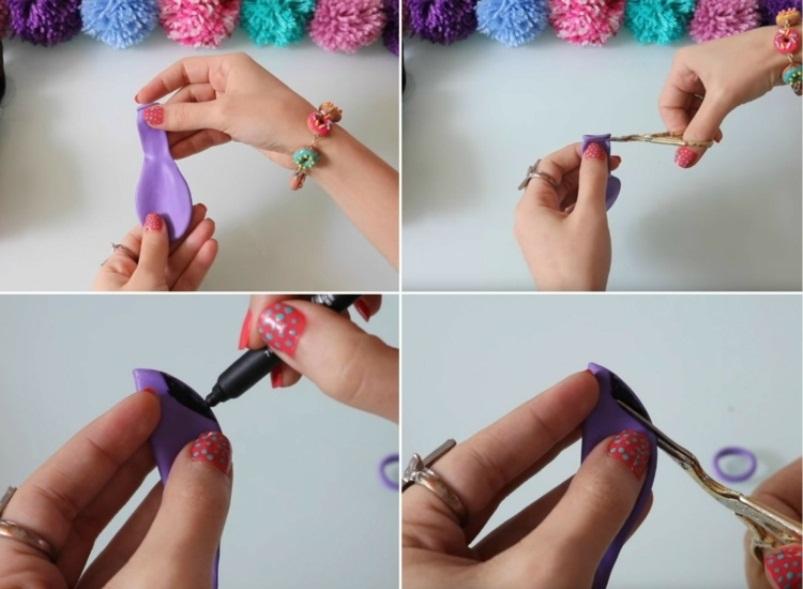 odezhda-dlya-barbi-iz-vozdushnogo-shara Как сделать легко кукле одежду. Как сделать одежду для кукол своими руками, для Барби, для монстр Хай, для Лол