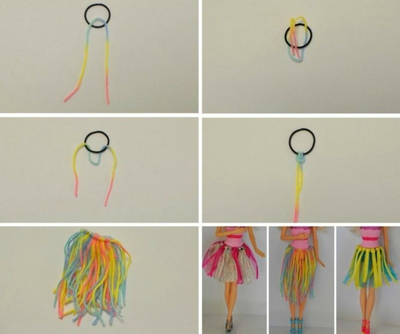 odezhda-dlya-barbi-pachka Как сделать легко кукле одежду. Как сделать одежду для кукол своими руками, для Барби, для монстр Хай, для Лол