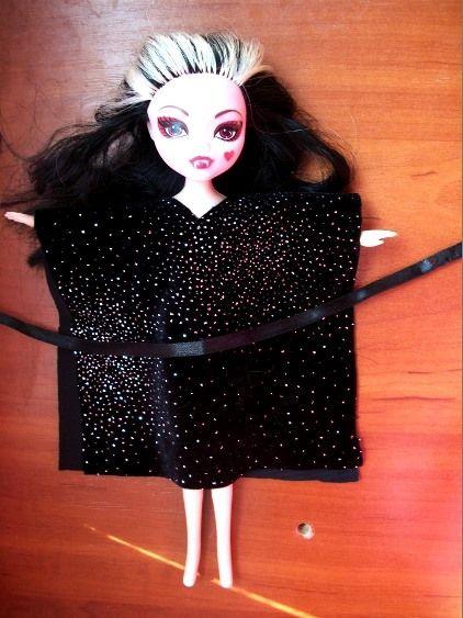 odezhda_kukle_5 Как сделать легко кукле одежду. Как сделать одежду для кукол своими руками, для Барби, для монстр Хай, для Лол