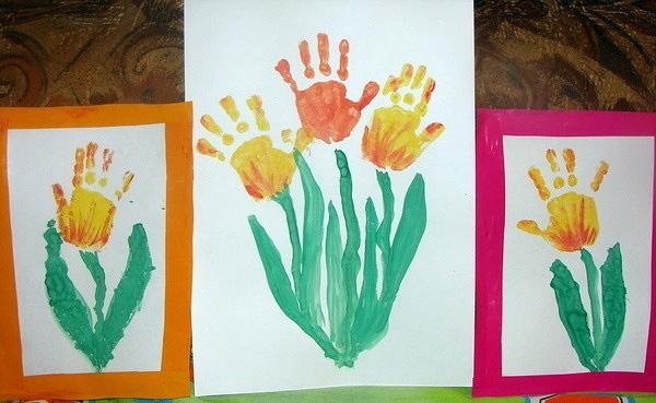 Рисунок к 8 марта своими руками нарисовать в садик, утро картинки надписями