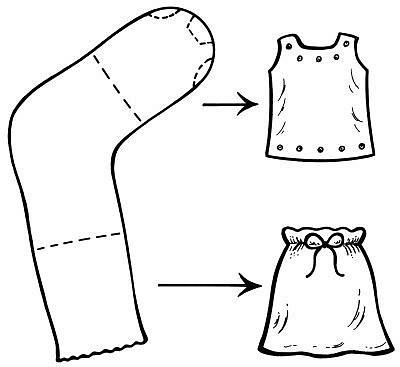 resize_400_367_true_3063931_ee8f8d8232 Как сделать легко кукле одежду. Как сделать одежду для кукол своими руками, для Барби, для монстр Хай, для Лол