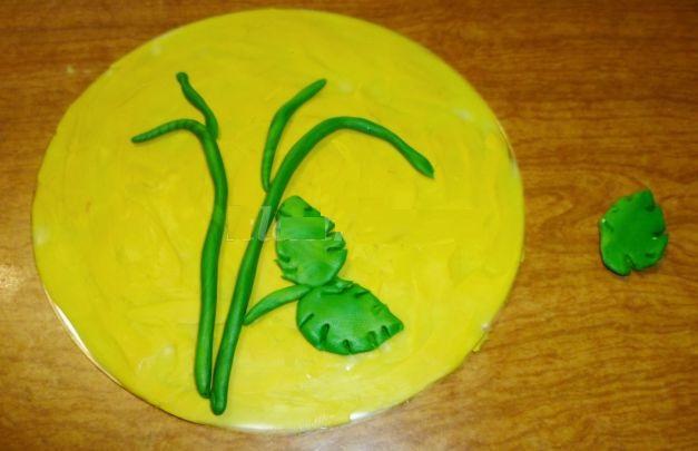 3059_0fcbcf35a6ea04b02b9e1388d22be324 Аппликации из пластилина для детей, на картоне, шаблоны, жгутиками, в детский сад, в школу. Поделка аппликация из пластилина, к 8 марта, 23 февраля, 9 мая День Победы